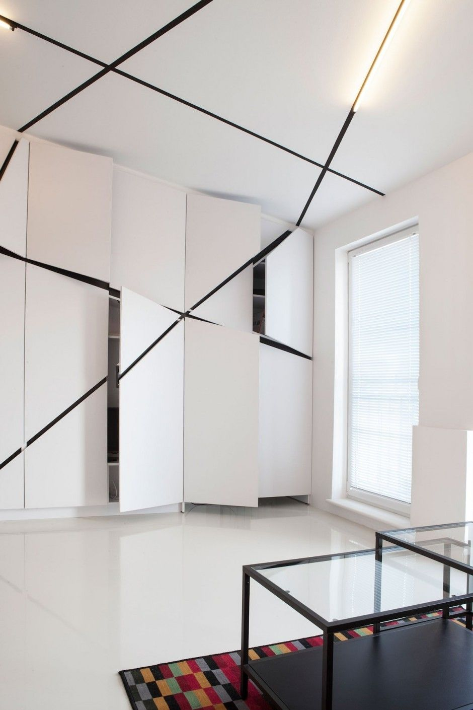 peter 39 s flat par mili mlodzi ludzie interieurs pinterest. Black Bedroom Furniture Sets. Home Design Ideas