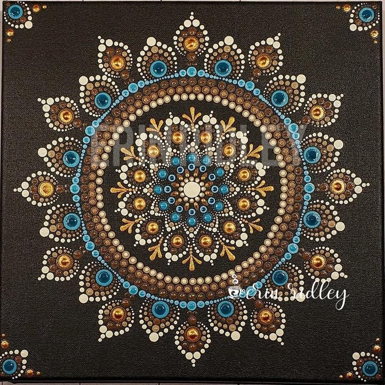 El Dorado Pattern Dotting Pattern Mandala Pattern Dotting | Etsy
