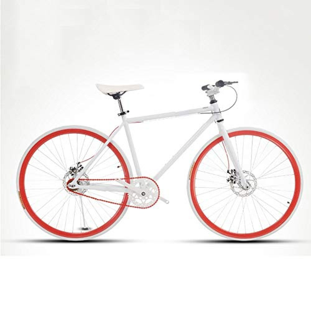 Lrhd Road Bike For Men And Women Simple Bicycle Adult Women S