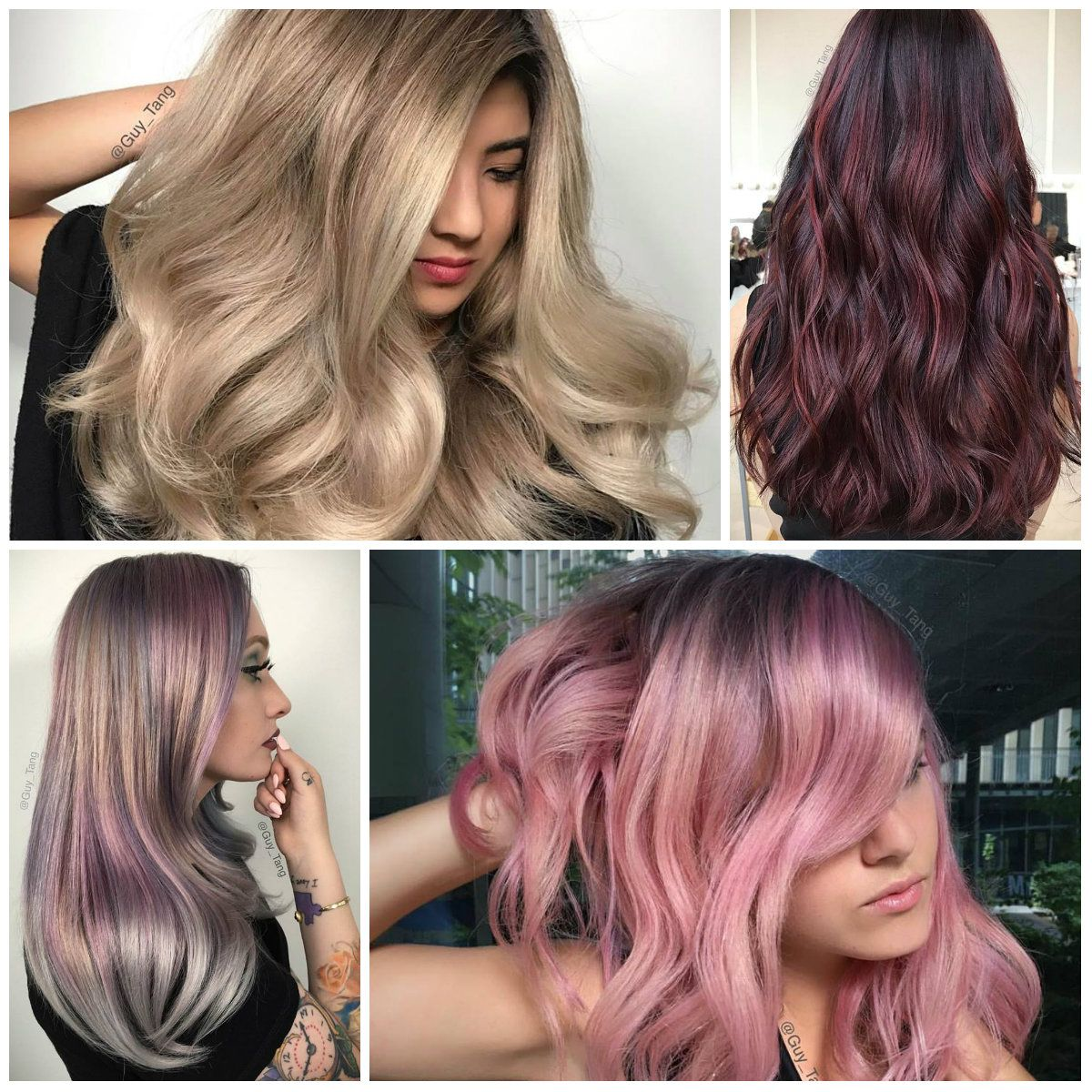 Popular color trends 2017 - Best Hair Color Trends 2017 Top Hair Color Ideas For You