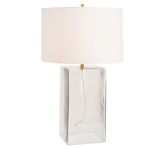 Blaine Recycled Glass Table Lamp Glass Table Lamp Recycled Glass Glass Table