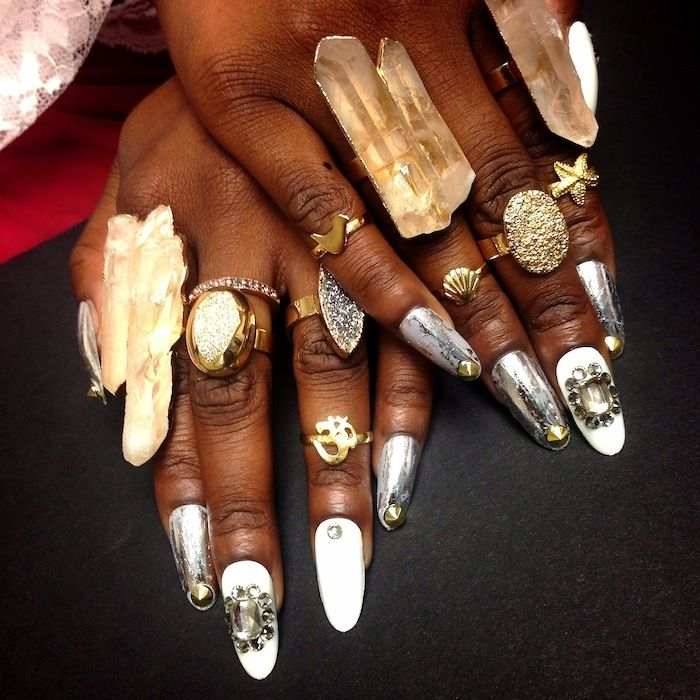 Jewelry and Nail Game MEAN. | Nail Art | Pinterest | Nail salons ...