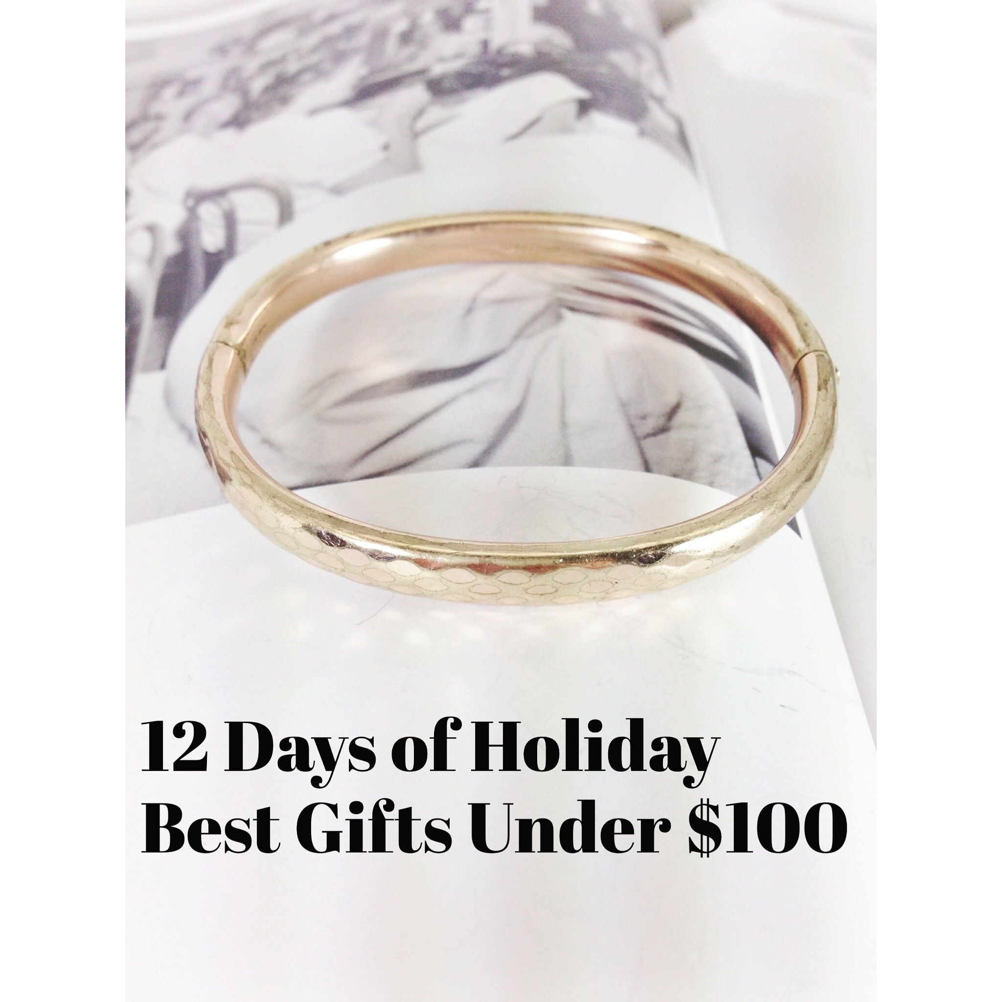 The vintage holiday gift guide - 12 Days of jewelry gift ideas. Day 4 is best Gifts Under $100 at the Stacey Fay Designs shop. http://staceyfaydesigns.com/the-12-days-gift-guide-day-4-gifts-for-under-100/