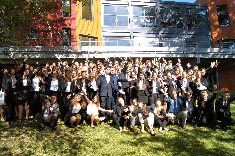 Photo de la rentrée 2014 des étudiants en prérequis de l'Ecole de Savignac