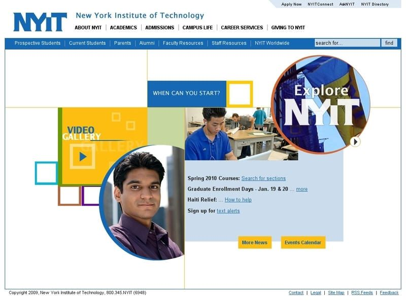 New York Institute Of Technology University List Technology Colleges And Universities