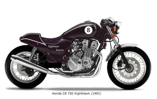 Honda Nighthawk 750 Cafe Racer