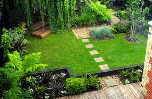 Garden Design. Stunning Drought Tolerant Garden Design By