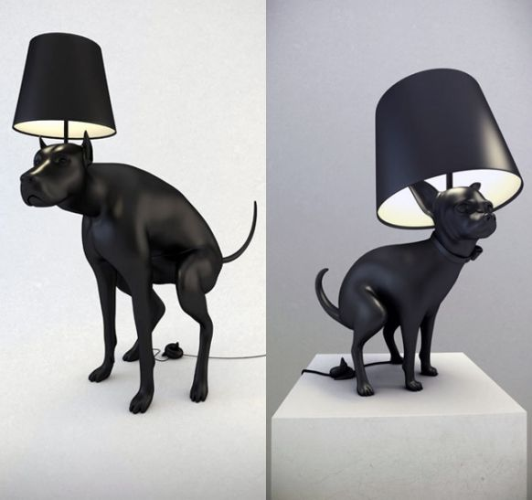 Pooping Dog Lamps It Just May Be Too Tacky For Me Yet Hmmm