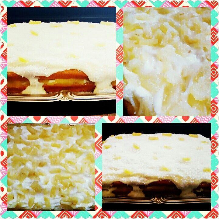 Nakedcake de abacaxi com coco
