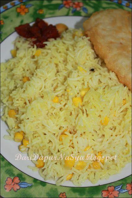 Nasi Jagung Ringkas Resep Makanan Resep Masakan Indonesia Jagung