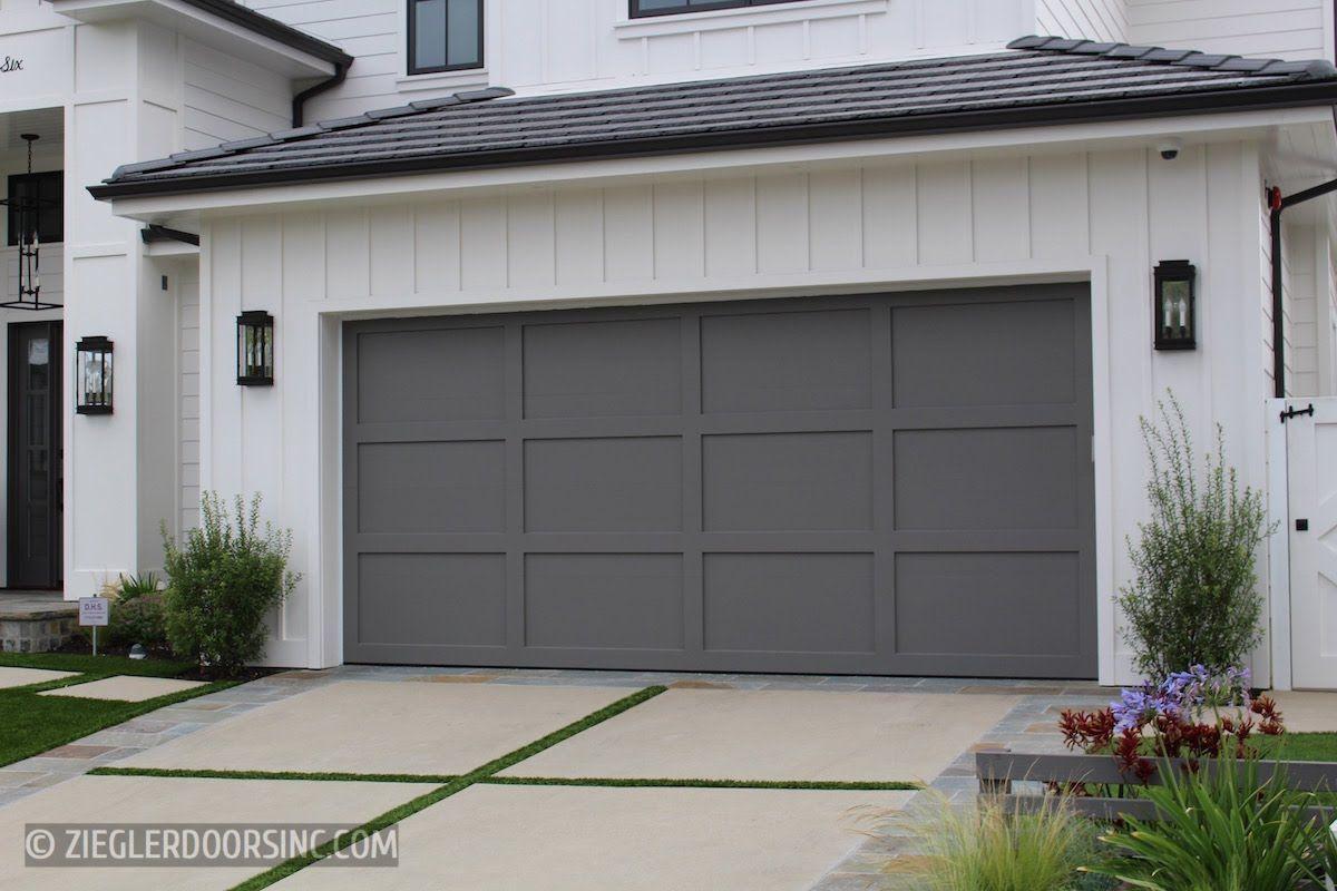 Farmhouse Wood Garage Doors Ziegler Doors Inc Garage Door Design Modern Garage Doors Garage Door Paint