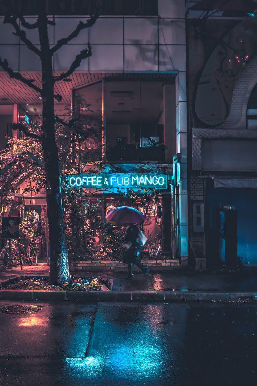 Kotaro Yamada On Twitter Rainy City Rainy Night Night Aesthetic