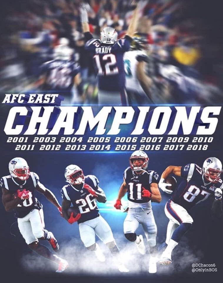 cee90072e New England Patriots - AFC East Champions   New England Sports Teams ...