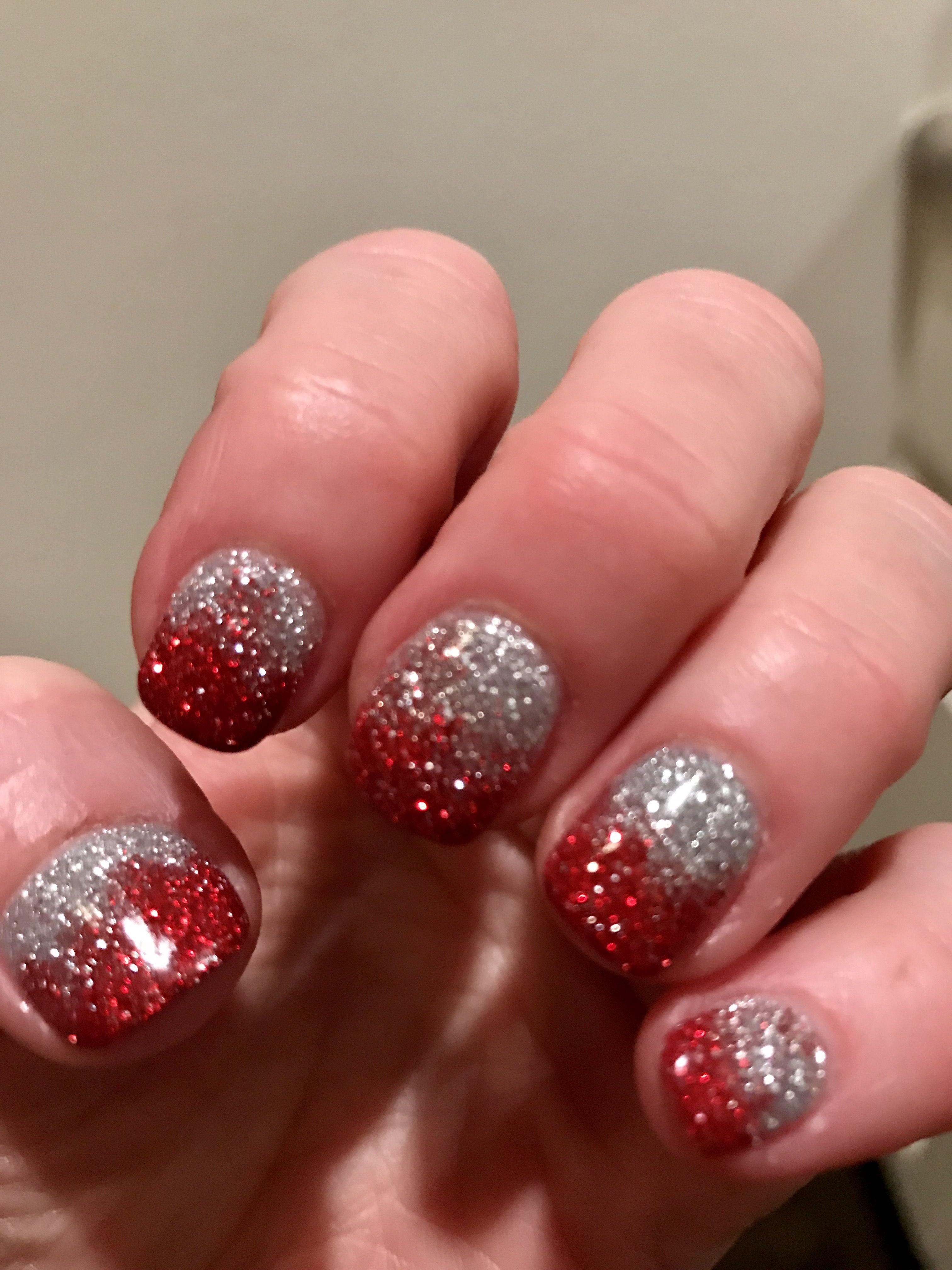 Christmas Hombre Sns Nails