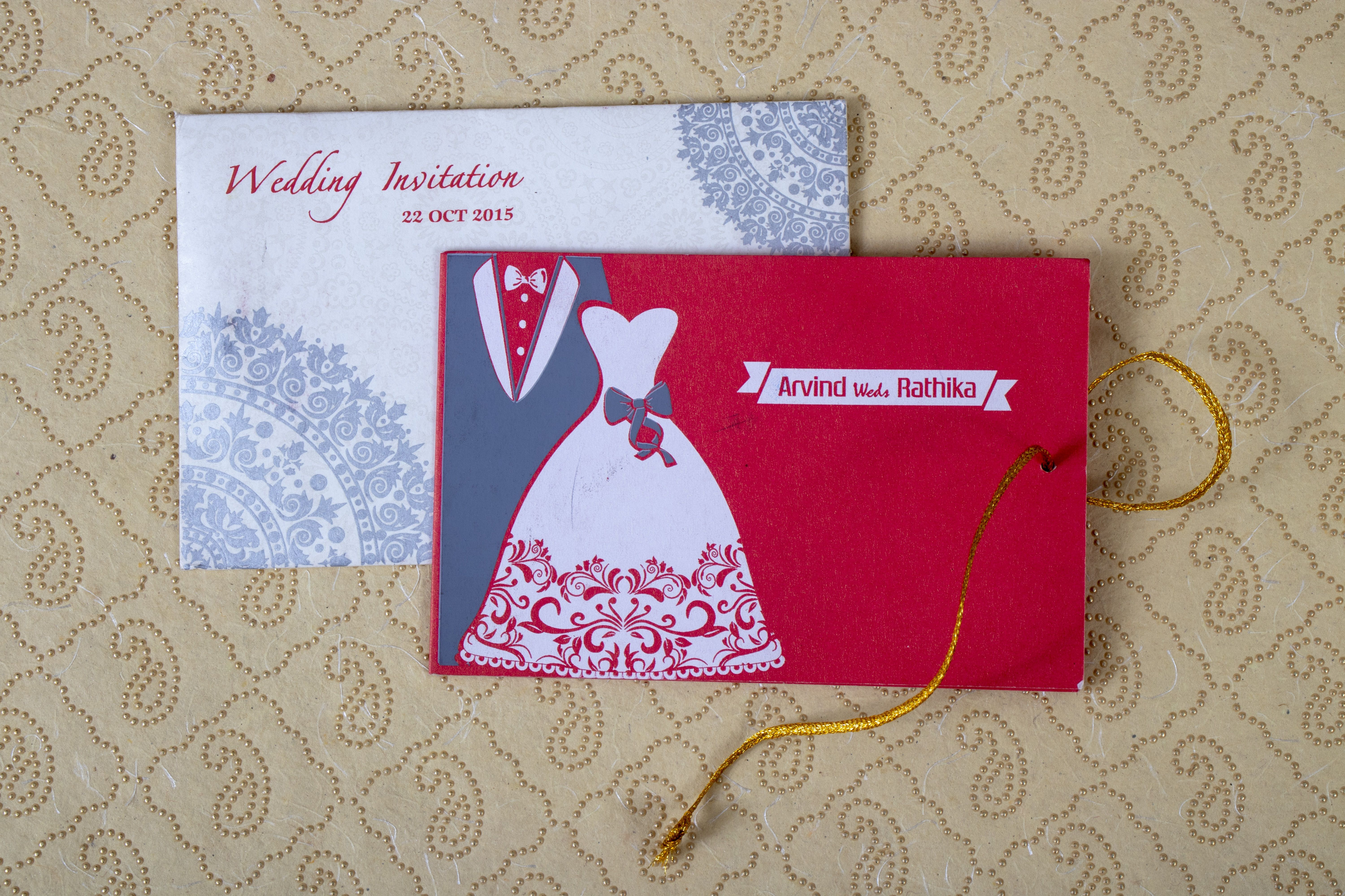 Affordable Friends Invitation Cards For Your Marriage A Cost Effective Budget Card For Your Wedding For Mor Marriage Cards Indian Invitation Cards Budget Card