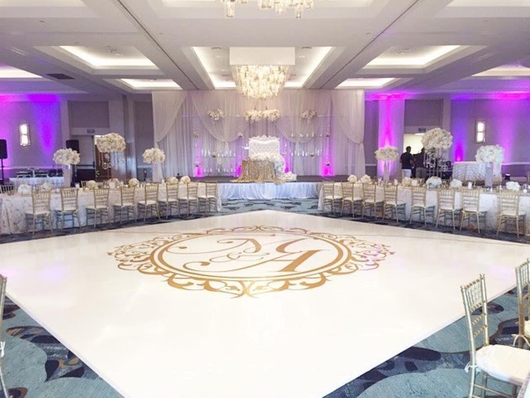 Monogrammed Dance Floor Coronado Ballroom San Diego Dance Floor Wedding Wedding Reception Rooms Dance Floor