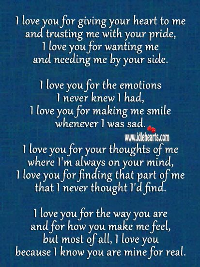 I Love You I Know You Are Mine Forever You Are My Forever You And Me Quotes Hugs And Kisses Quotes