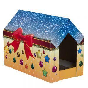 Joulumaa-kissanmaja