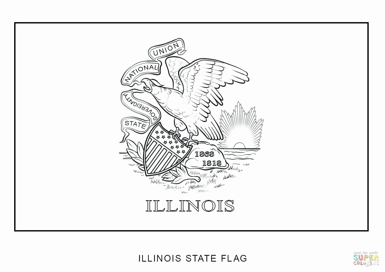 Washington State Flag Coloring Page Di
