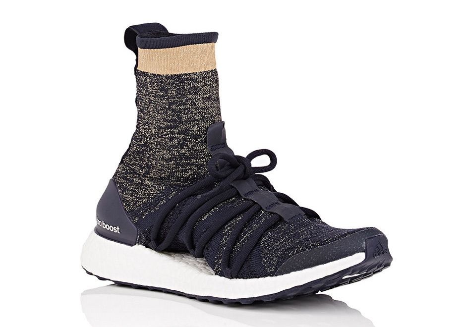 separation shoes 88fcf d202a The Stella McCartney adidas Ultra Boost X High is available today from  Barney s New York for  250 USD featuring a unique new ankle collar. Details  here
