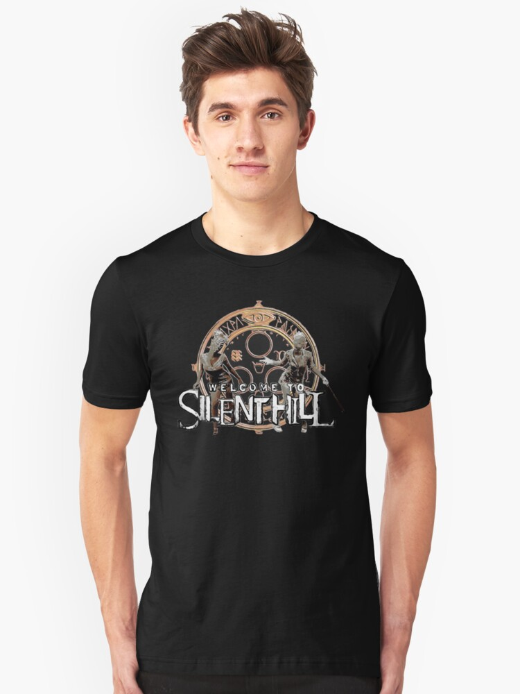 Welcome To Silent Hill Halo Of The Sun Millions Of Unique Designs By Independent Artists Find Your Thing Shirts Clothing T Shirt Shirts Classic T Shirts