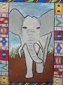 African Animals Art Ideas