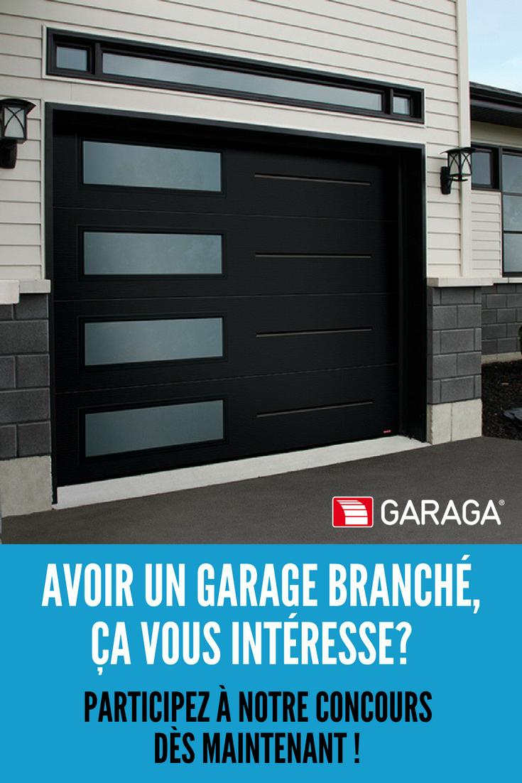 Choisissez Votre Porte De Garage Remplissez Le Formulaire Et Courez La Chance De Gagner Une Porte De Garage Garaga Et Des Accessoires Techno Modern Garage Doors