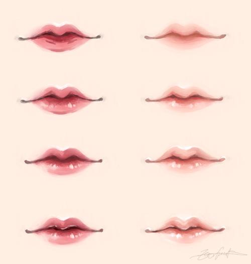 tumblr_nk4ezxv7ZF1s478zdo2_500.png (500×526) การวาดใบหน้า