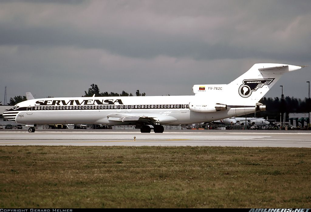 Boeing 727-2D3/Adv - Servivensa | Aviation Photo #2266439 | Airliners.net