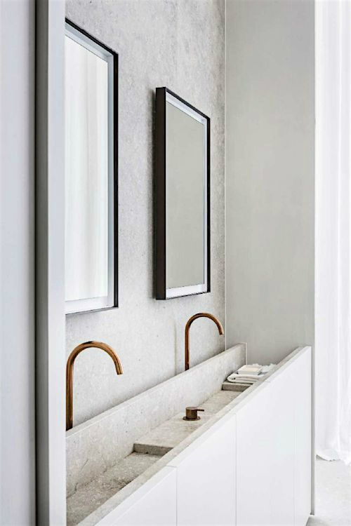 Photo of Hans Verstuyft Architecten: il bagno per sentirsi bene