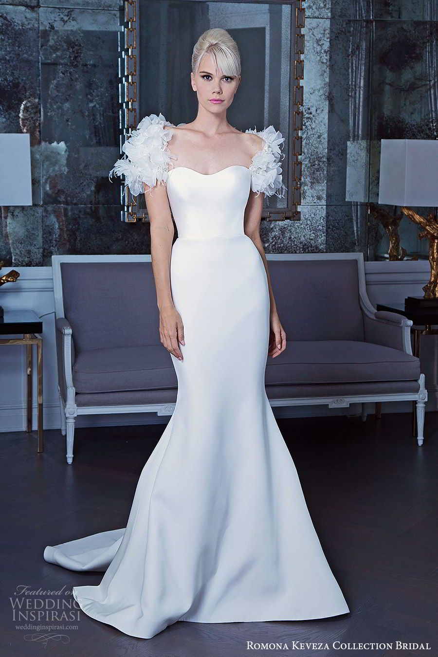 Wedding dress restoration  Romona Keveza Collection Bridal Fall  Wedding Dresses  Wedding
