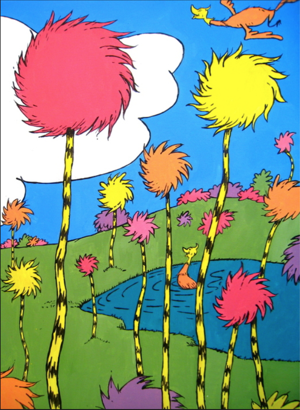 Truffula Tree Forest from The Lorax | The Lorax ...