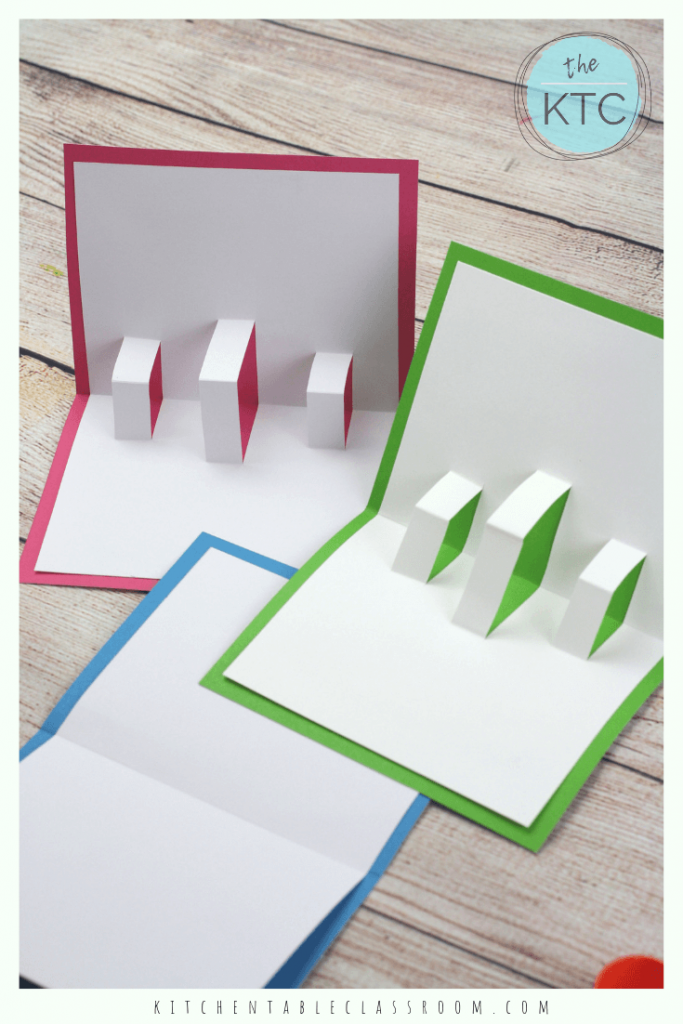 Build Your Own 3d Card With Free Pop Up Card Templates The Kitchen Table Classroom Diy Pop Up Cards Pop Up Card Templates Diy Pop Up Cards Templates