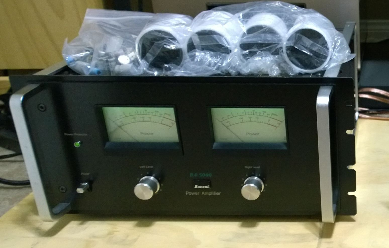 One Sansui BA-5000 Power Amplifier Fully Serviced Recapped in Awesome Condition