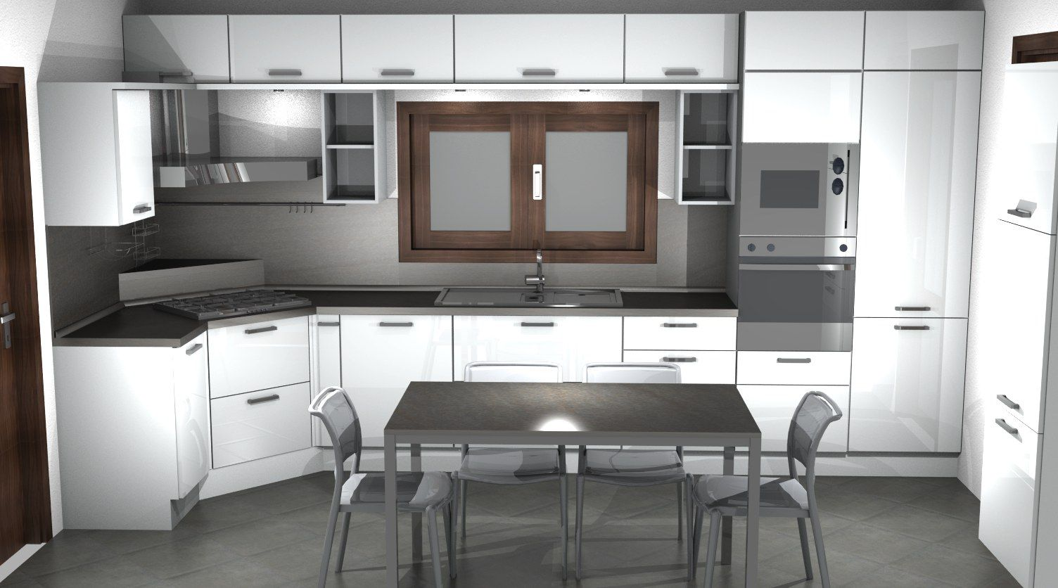 Cucina SAX Scavolini white by #Scavolini #Sax #kitchen #kitchens ...