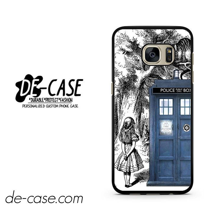 Alice Tardis Sketch DEAL-541 Samsung Phonecase Cover For Samsung Galaxy S7 / S7 Edge