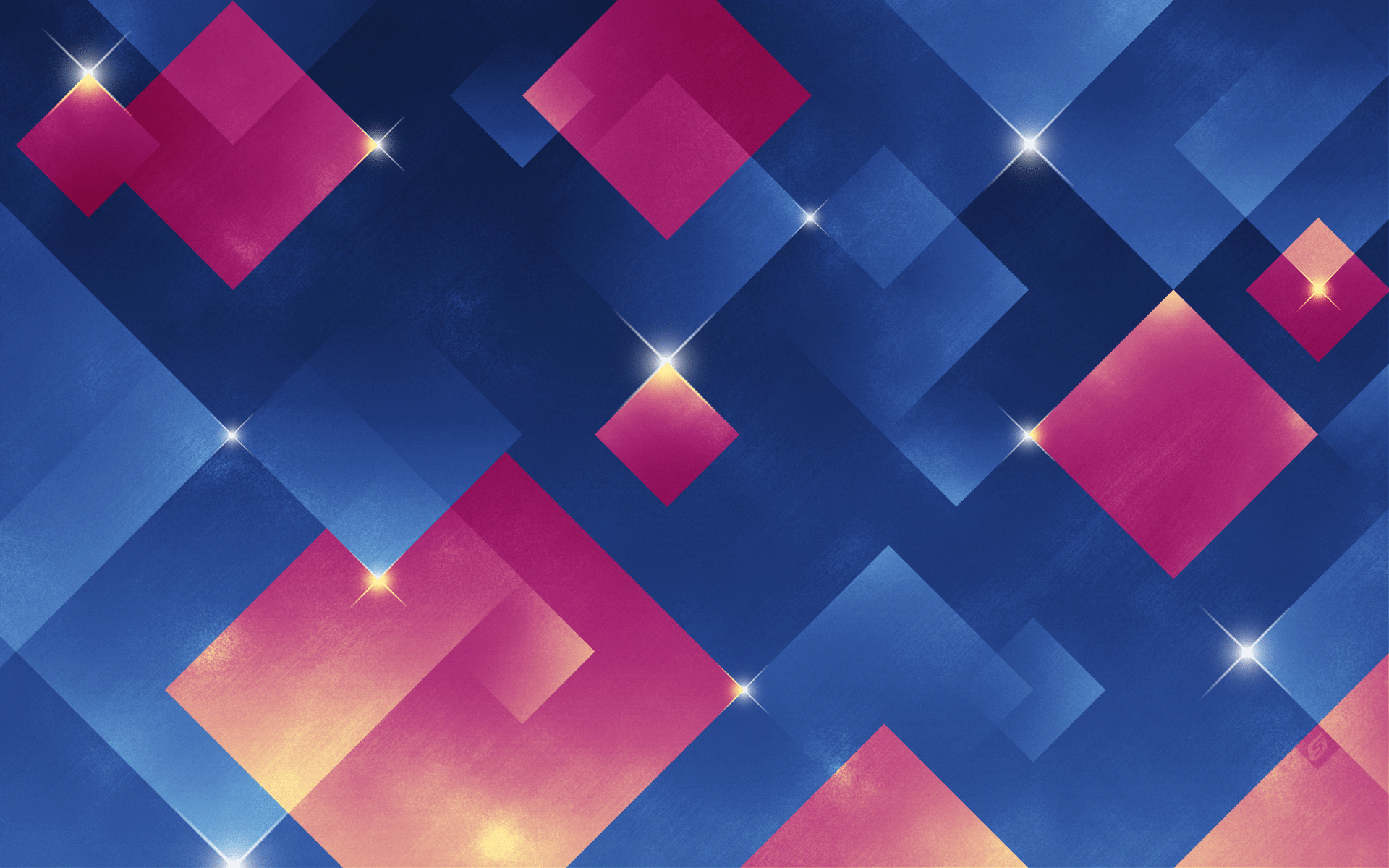 Blue Squares iPad Air Wallpaper Download iPhone Wallpapers