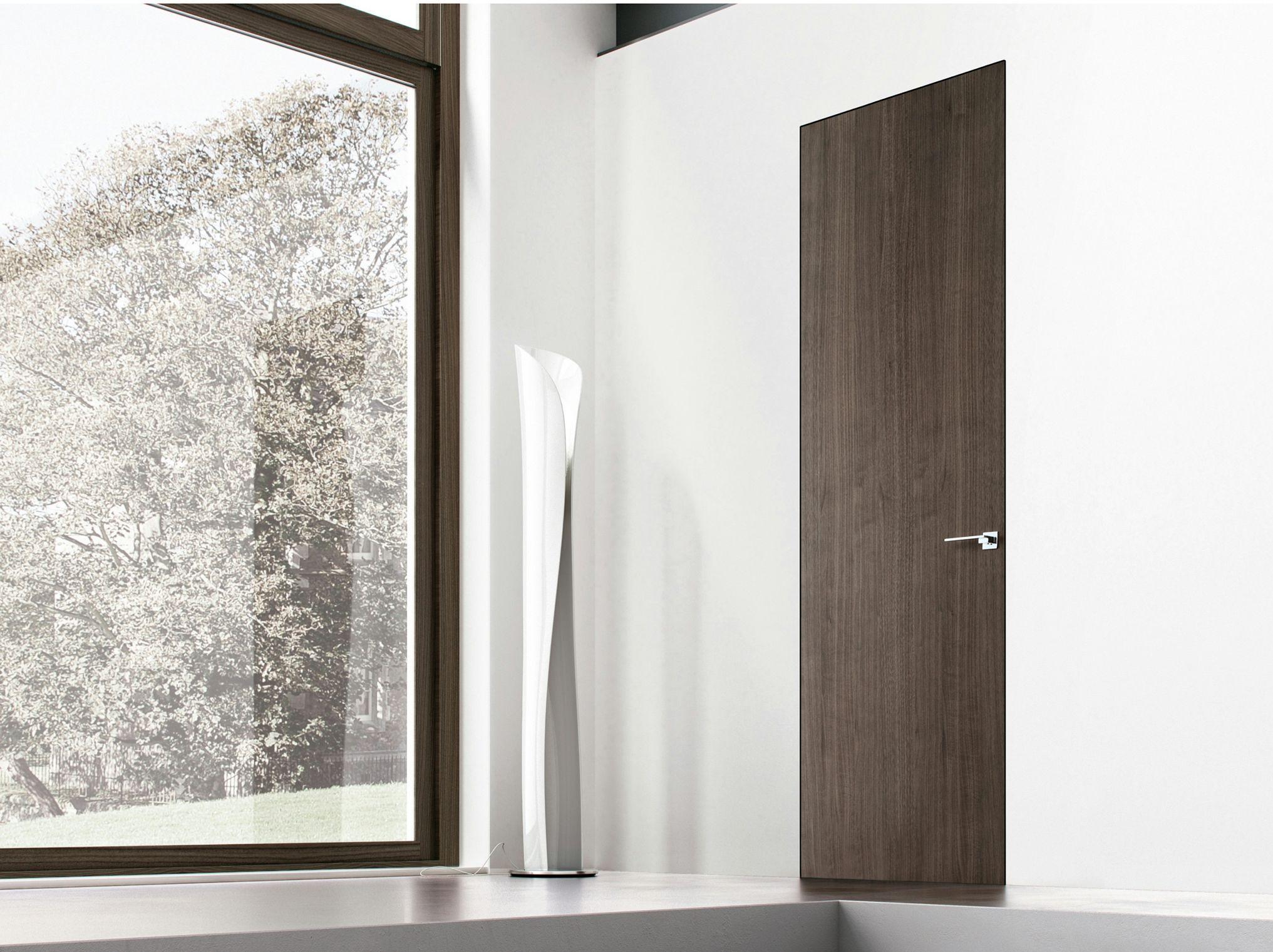 Hinged flush fitting door tabula by ghizzi benatti
