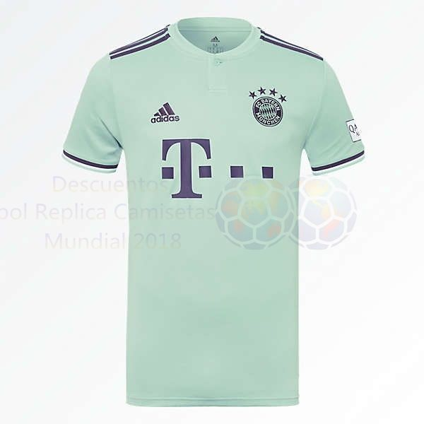 Venta Camisetas Tailandia Segunda Camiseta Bayern de Múnich 2018 2019 Verde  €20.00 c6b84e5b3b294