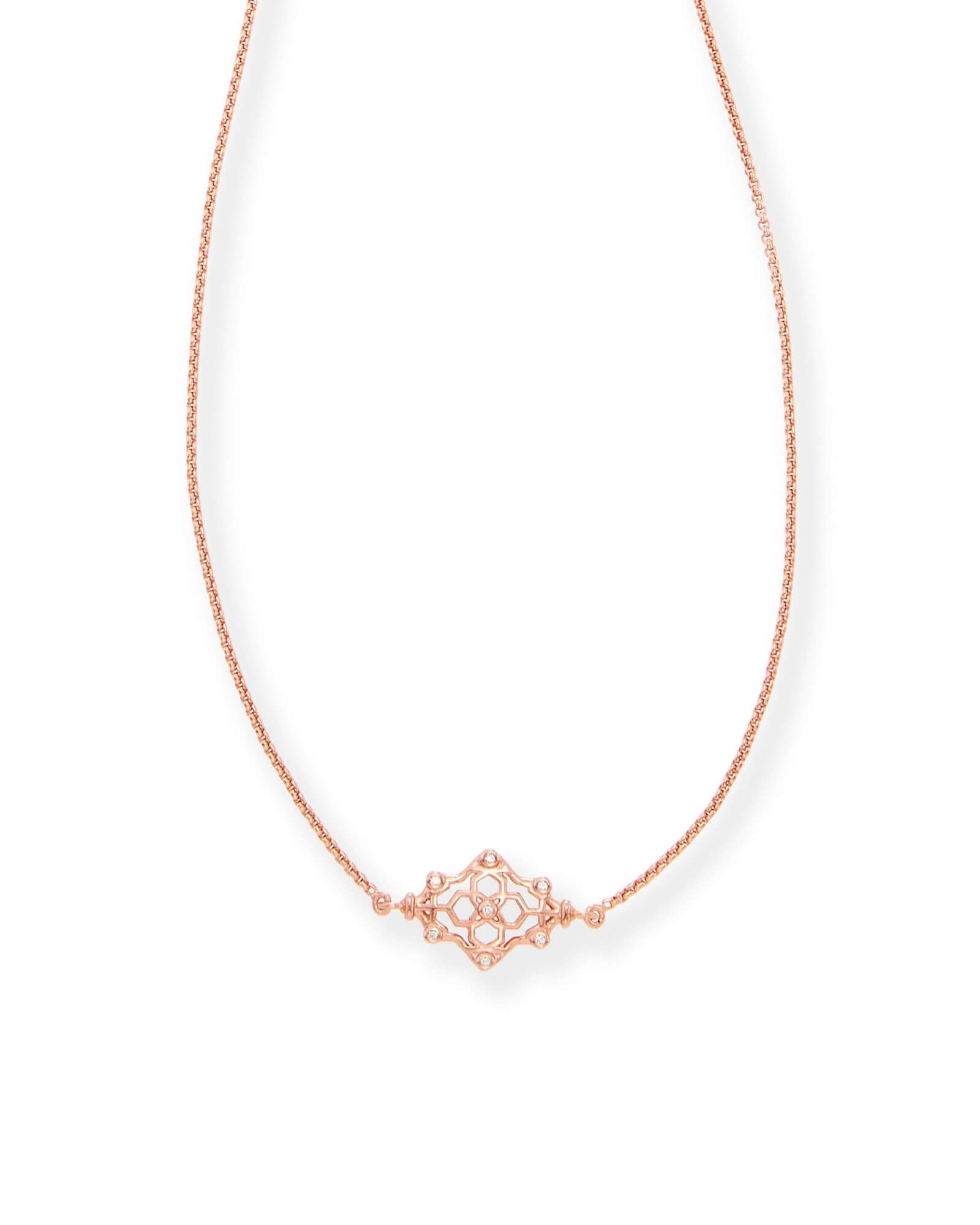 Riley pendant necklace in rose gold things i likewant pinterest