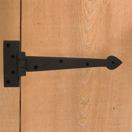 Cast Iron Heart Gate Rim Latch And Handle Set Iron Straps Strap