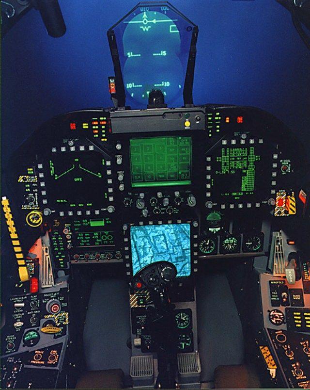 F/A-18F Super Hornet Cockpit | Jet Attack / Fighter ...