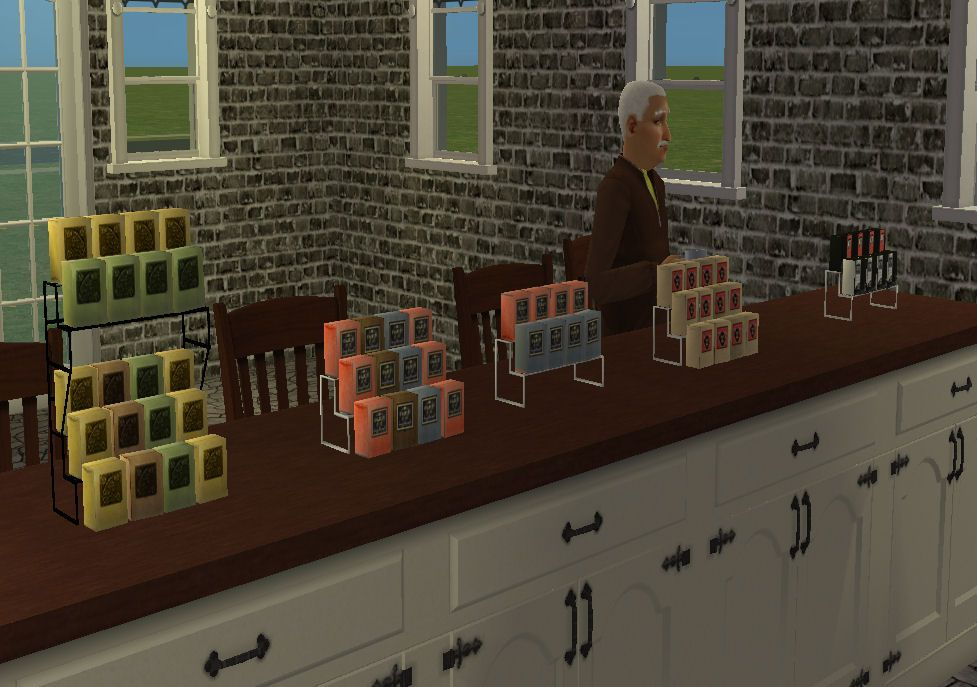 Mod The Sims Wcif Extracted Item From Espresso Bar Found