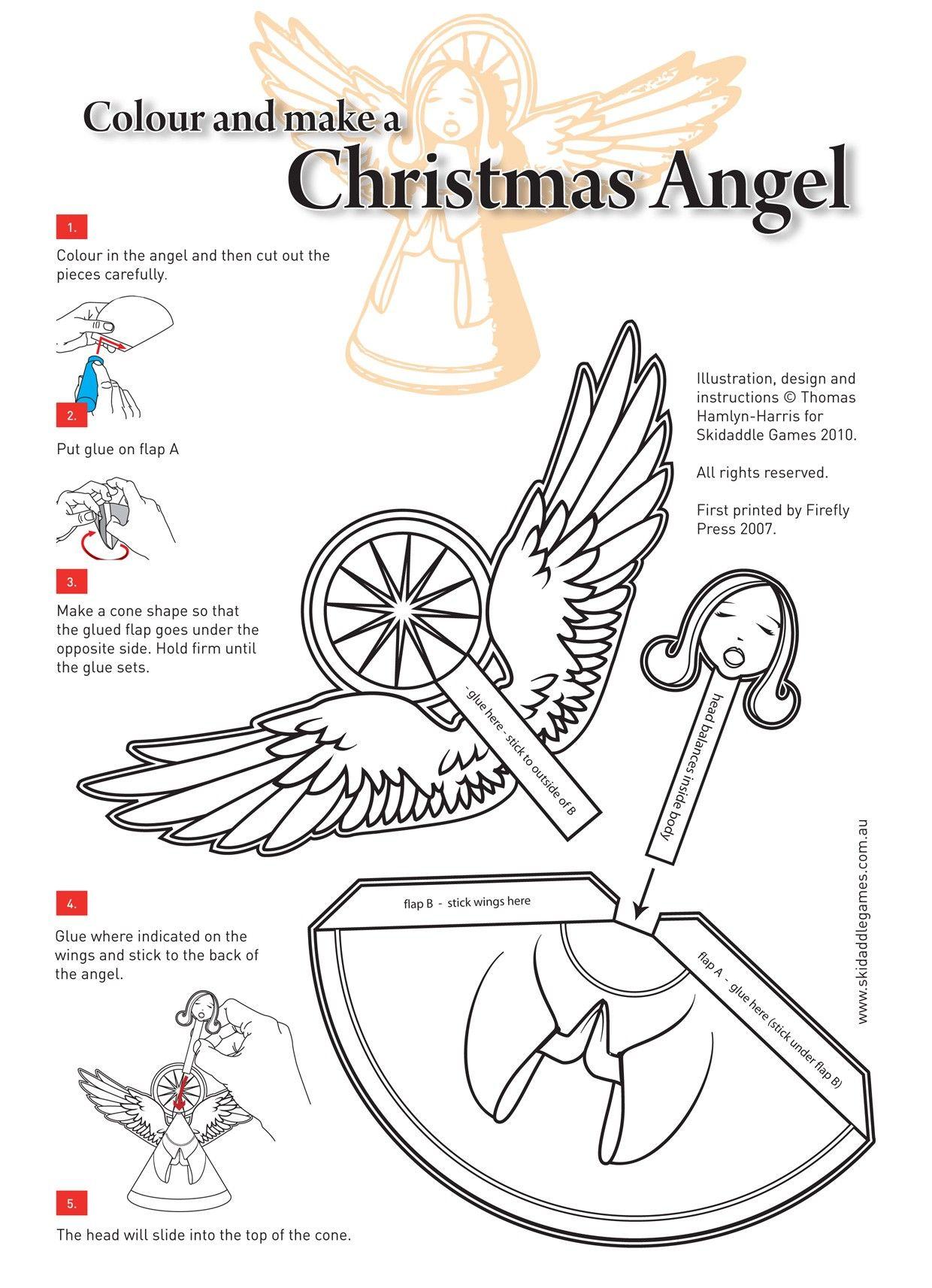 18++ Free printable crafts for christmas info