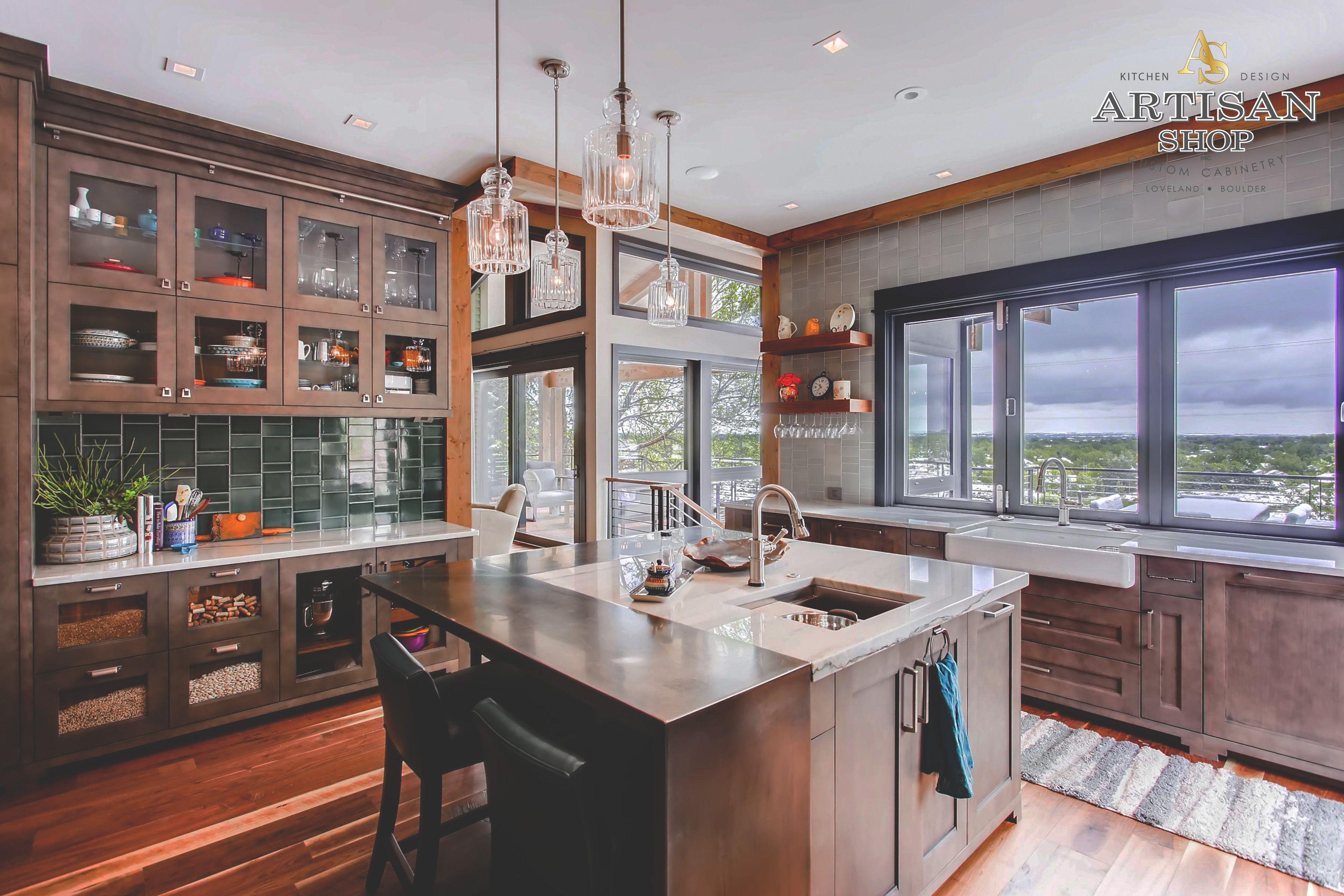 Custom Grey Stain On Maple Award Winning Kitchen Design Kitchen Kitchen Design