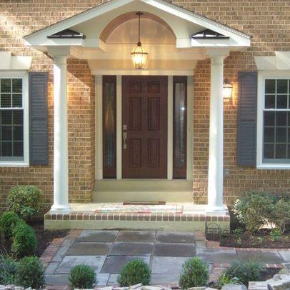 Front Porch Portico Designs Front Porch Portico Design Ideas