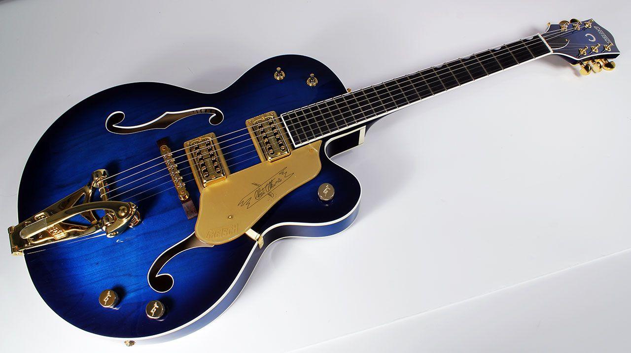 Blue Gretsch