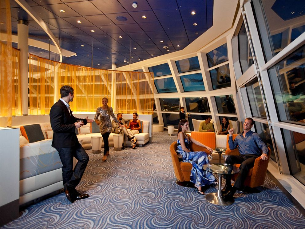 Celebrity Equinox Sky Observation Lounge With Images