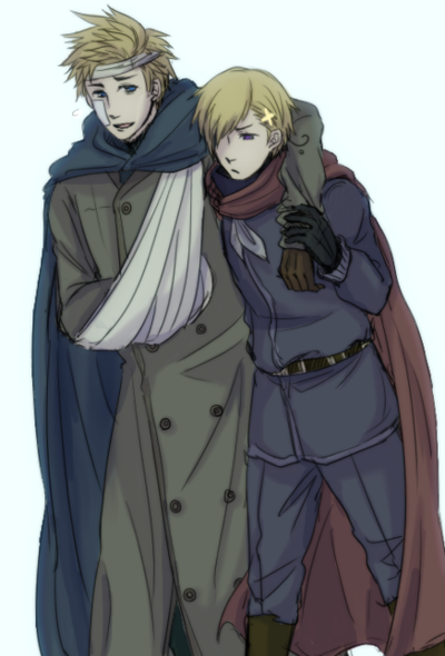 Aph Norway helping out a hurt Denmark  x3 Otp right here, people
