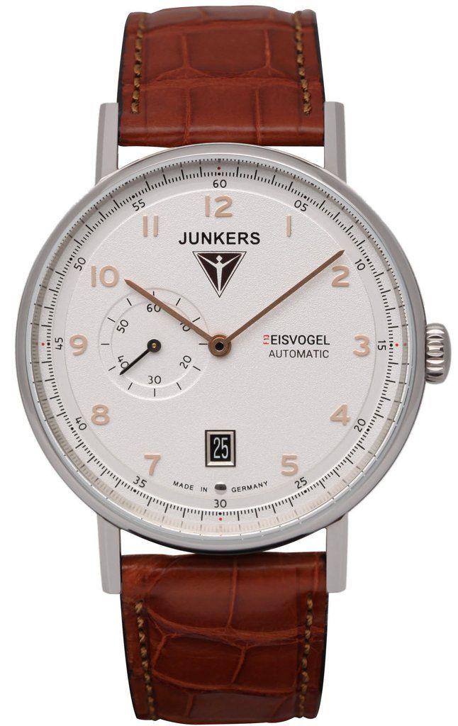 Junkers Watch Eisvogel F13 #2015-2016-sale #bezel-fixed #black ...